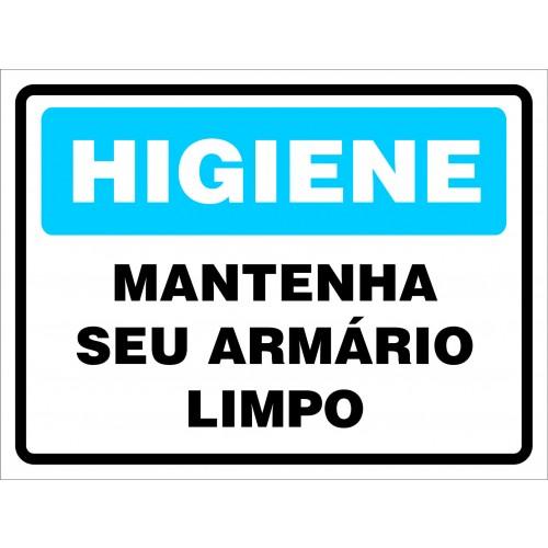 Higiene banheiros empresa : Placas de sinaliza??o