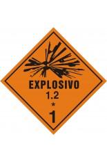 Subclasse 1.2 / Explosivo - 25 x 25 cm