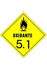 Subclasse 5.1 / Substâncias oxidantes - 30 x 30 cm
