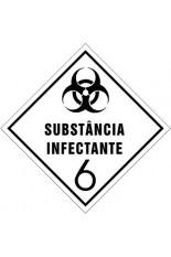 Subclasse 6.2 / Substâncias infectantes - 30 x 30 cm