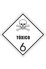 Subclasse 6.1 / Substâncias tóxicas - 30 x 30 cm